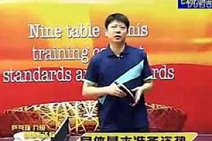 乒乓球九级训练内容与达标标准_乒乓球九级训练教学视频百度云网盘免费下载观看