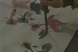 少儿童国画入门启蒙_赖向芳《儿童学国画》全套视频教程百度网盘免费下载观看