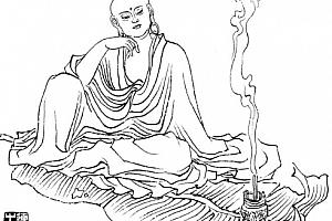神话人物104张线描图人物白描工笔画练习高清电子版底稿素材百度网盘下载观看