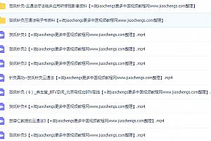 贺普仁贺氏三通法针灸手法视频教程百度网盘下载学习