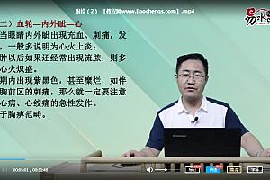 2021王涛六经面诊易水医方色诊舌诊望眉望神眼诊中医面诊诊断学自学视频百度网盘下载学习