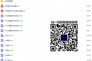 天津中医药大学针灸学视频教程石学敏123讲完整版百度云网盘下载学习中医针灸视频