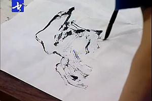 赵步唐山水国画教学视频教程34讲座百度云网盘下载学习山水画教程