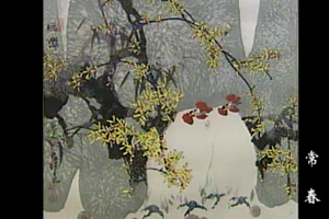 房新泉花鸟画技法视频教程写意花鸟画入门视频教程12讲百度云网盘下载学习花鸟画技法教程