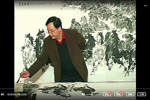 杨志斌写意马画法视频教程18讲杨志斌画马技法教学视频示范百度云网盘下载学习