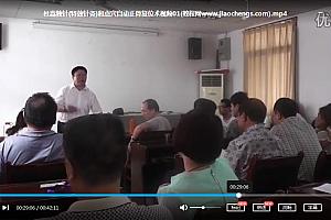 杜嵩独针初高级班视频教程百度云网盘下载学习中医针灸视频教程